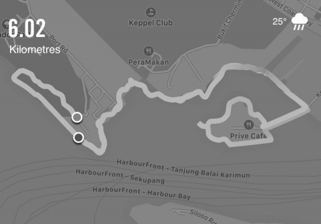 labrador nature park keppel bay route sample 3